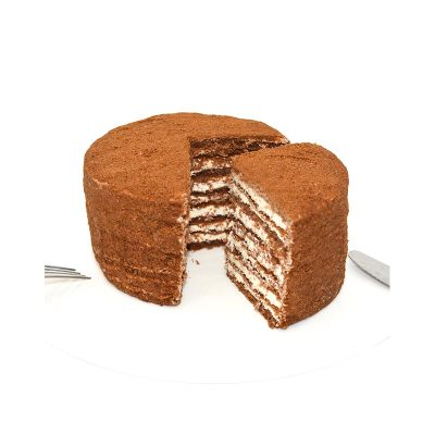正宗俄罗斯进口双?#25945;?#25289;米苏SAMKOND蜂蜜奶油多层蛋糕西点买1送1